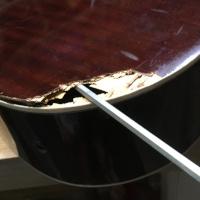 Kapot gitaarblad